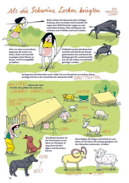Ein Comic für den Tierpark Arche Warder