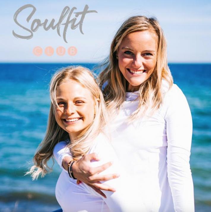 Helft Mirja & Nike Menzel beim Fundraising ihres Unternehmens Soulfit