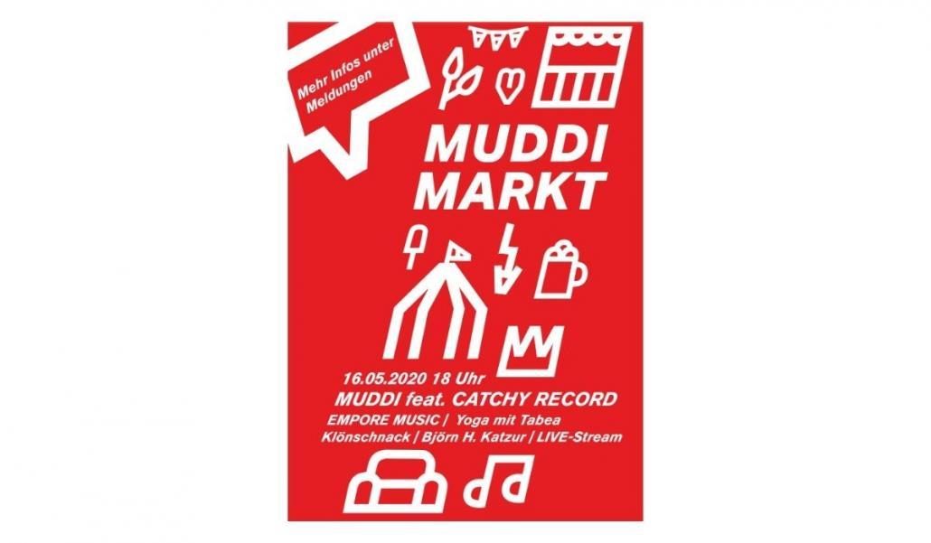 MUDDI Markt goes live - und ihr könnt dabei sein!