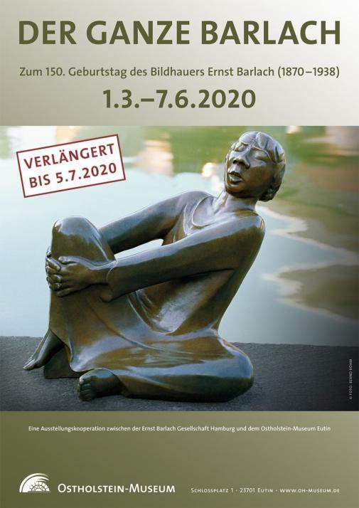 """Die aktuelle Ausstellung im Ostholstein-Museum """"Barlach"""" könnt ihr am Internationalen Museumstag besichtigen"""