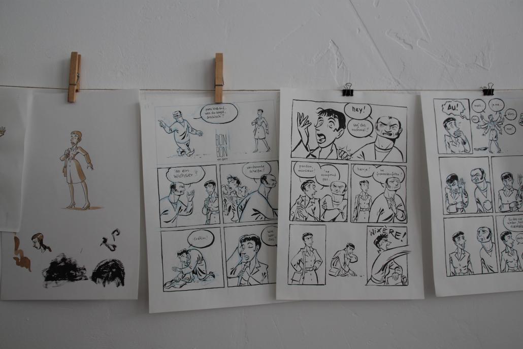 Kieler Comics: Arbeit, die Früchte trägt
