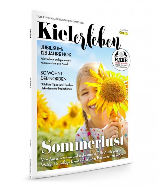 Die Juli-Ausgabe der KIELerleben ist da!