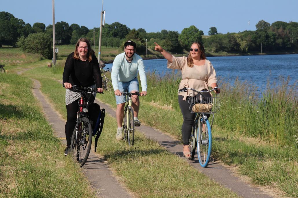 Weiter geht es auf dem Nordufer des Kanals