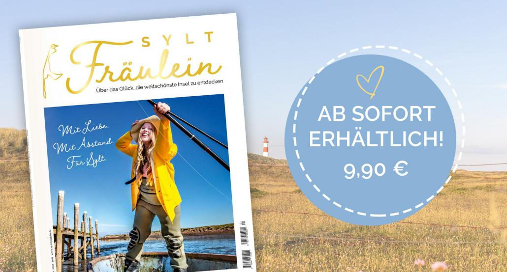 Sichert euch das neue Sylt-Magazin