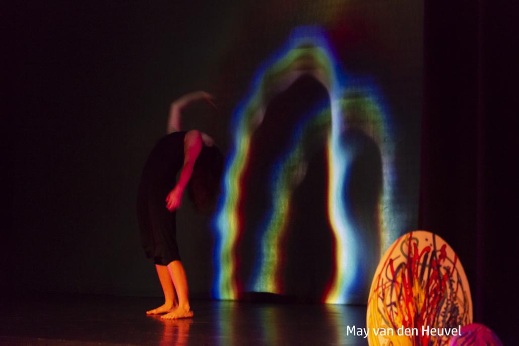 Performance-Kunst in der Pumpe