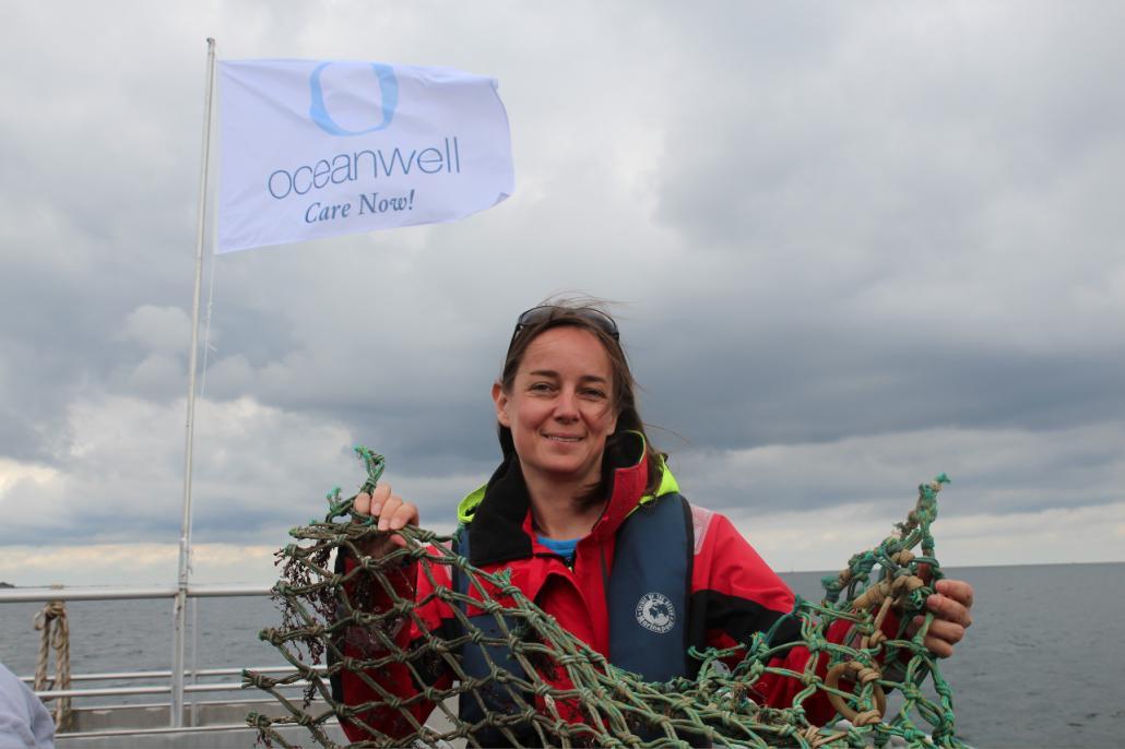 Der Schutz und die Sauberkeit der Meere ist für Miriam Berwanger von Oceanwell ein besonderes Anliegen