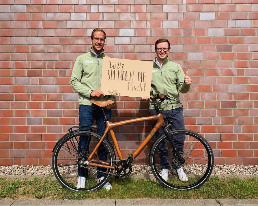 Jonas Stolzke (li.) und Maximilian Schay von my Boo