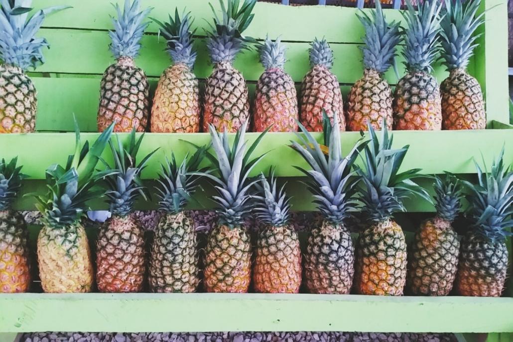 Ananas hilft laut TCM dabei, Sommerhitze aus dem Körper zu leiten. Egal, ob das stimmt oder nicht: Lecker ist sie allemal!