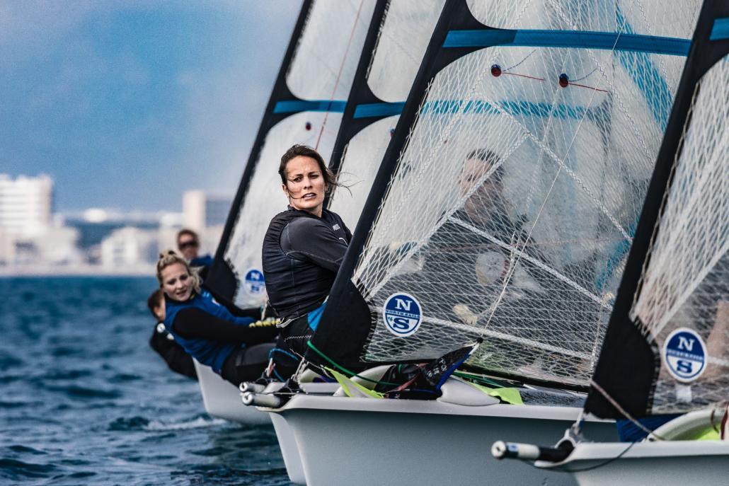 Susann Beucke segelt auf der ganzen Welt, in Kiel wurde sie Europameisterin.