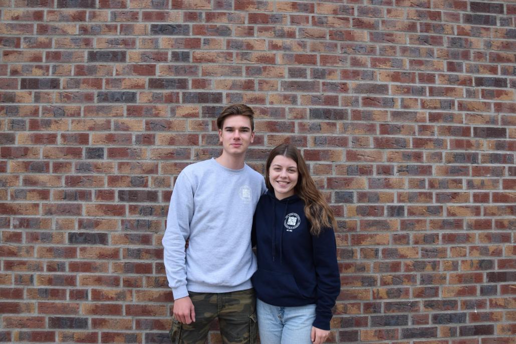 Judith und Jesko, Freiwillige bei SchülerHelfenLeben