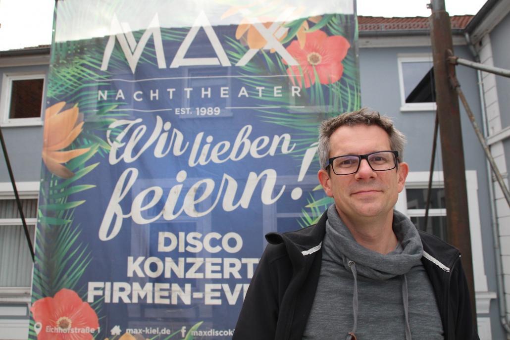 Henning Puls, Geschäftsführer des MAX