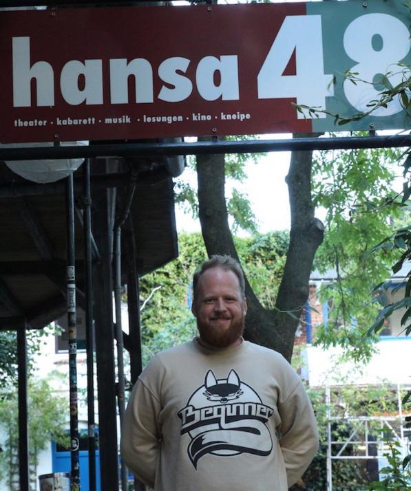 Jan-Hinnerk Wittmershaus, Geschäftsführer der Hansa 48