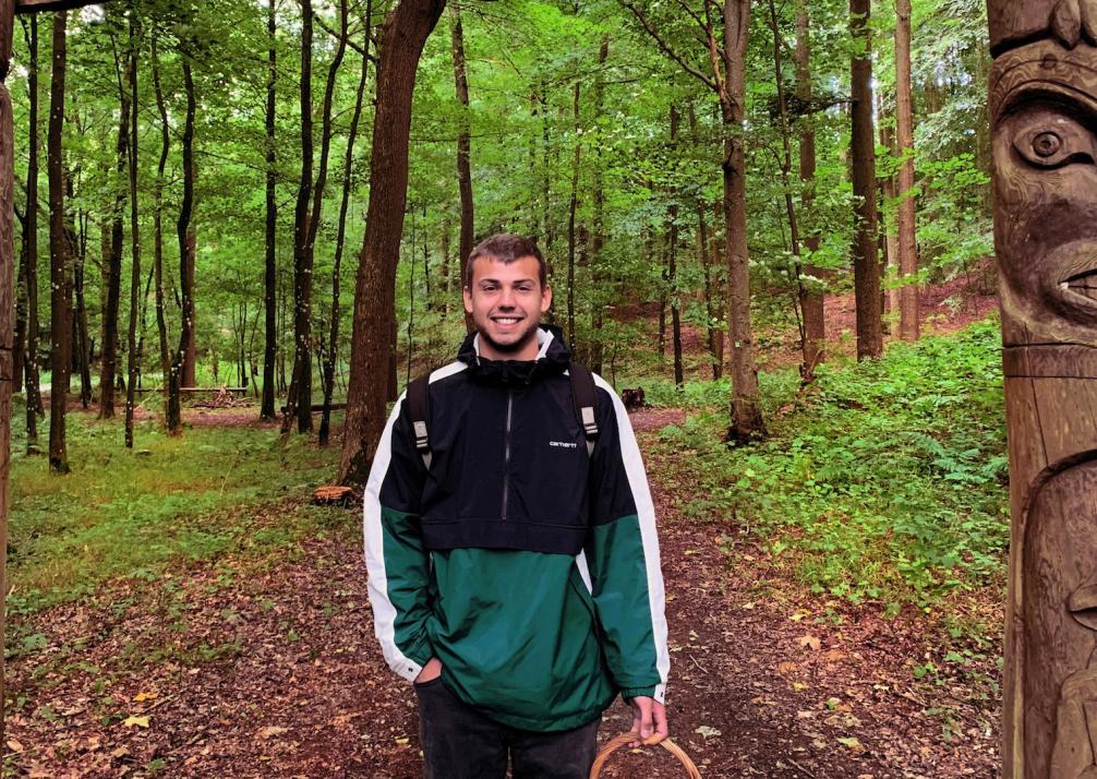 Philip Sponholz kennt sich mit Pilzen und ihren Eigenschaften bestens aus