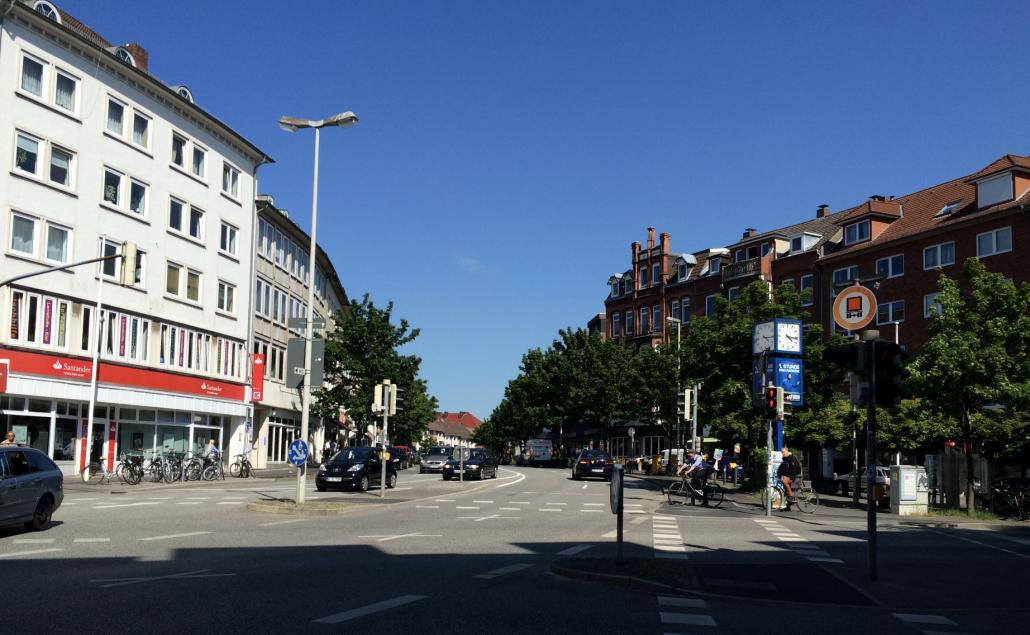 Am Samstag wird es eng für Autofahrer*innen in der Brunswiker Straße Richtung Schloßgarten.