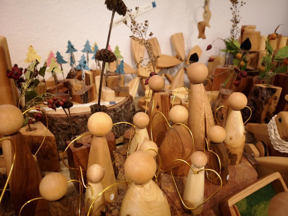 Kunsthandwerk im Pop Up Werkstattladen in der Kieler Holstenstraße