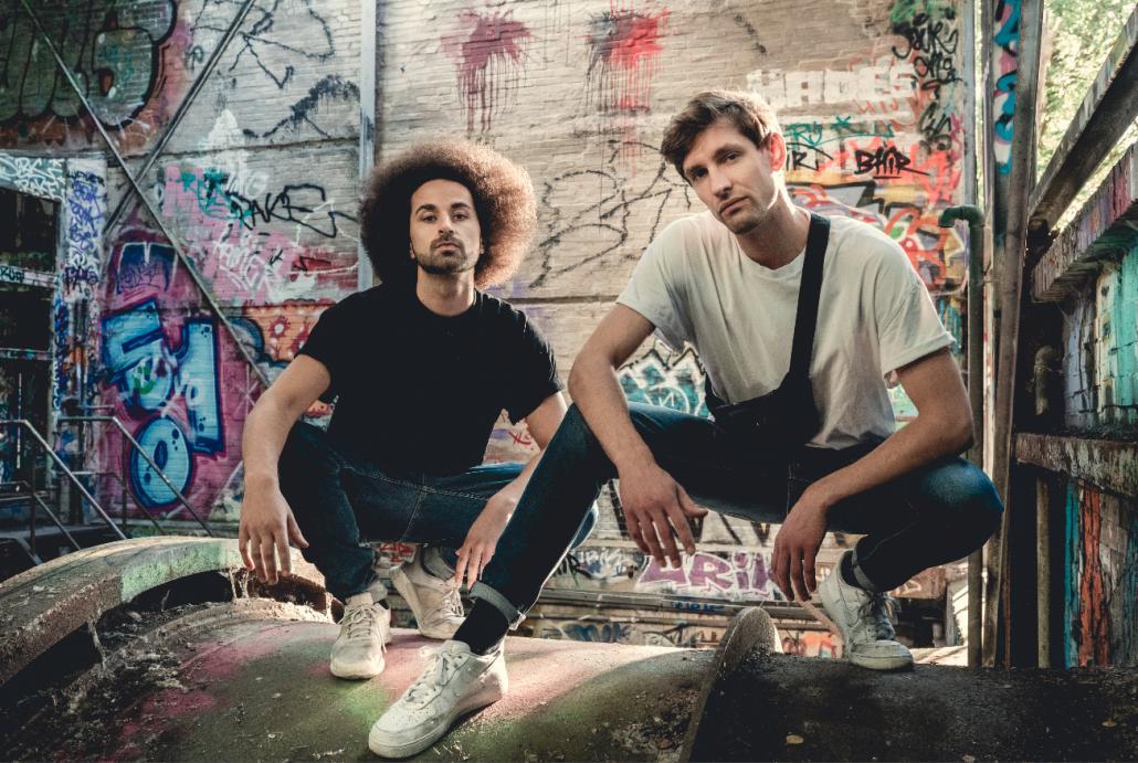 Rapper Jahfro und DJ J da K (v. l.) sind in Zeiten von Corona besonders aktiv und veröffentlichen nun bereits die zweite Single