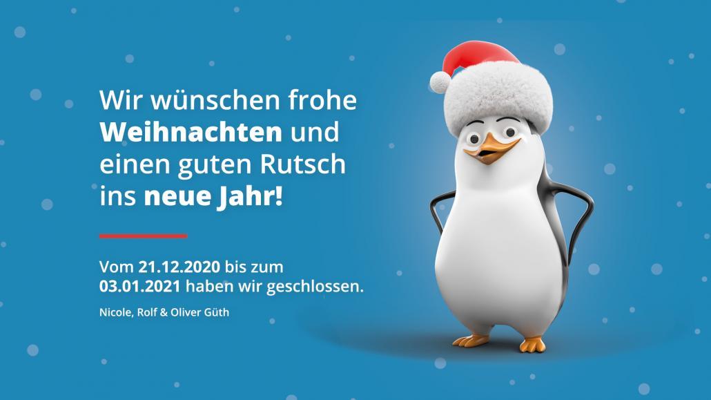 Firma Güth wünscht frohe Weihnachten