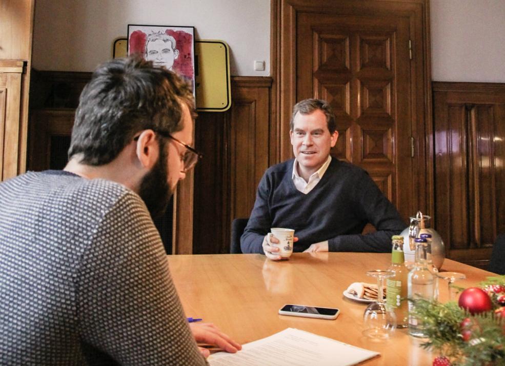 Im KIELerleben-Interview spricht Oberbürgermeister Dr. Ulf Kämpfer über die Ziele der Landeshauptstadt für 2021 und das nachhaltige Kiel.