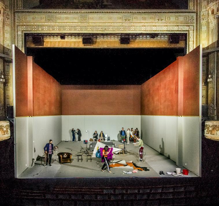 """Am 22. Januar folgt das Königliche Schauspielhaus Dramaten in Stockholm mit """"The Idiot"""""""