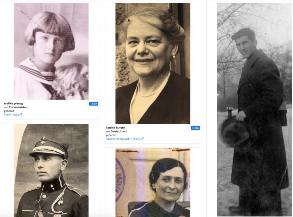 Patenschaften von Holocaust-Opfern übernehmen