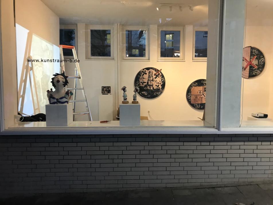 Neue Fenster-Ausstellung im Kunstraum B