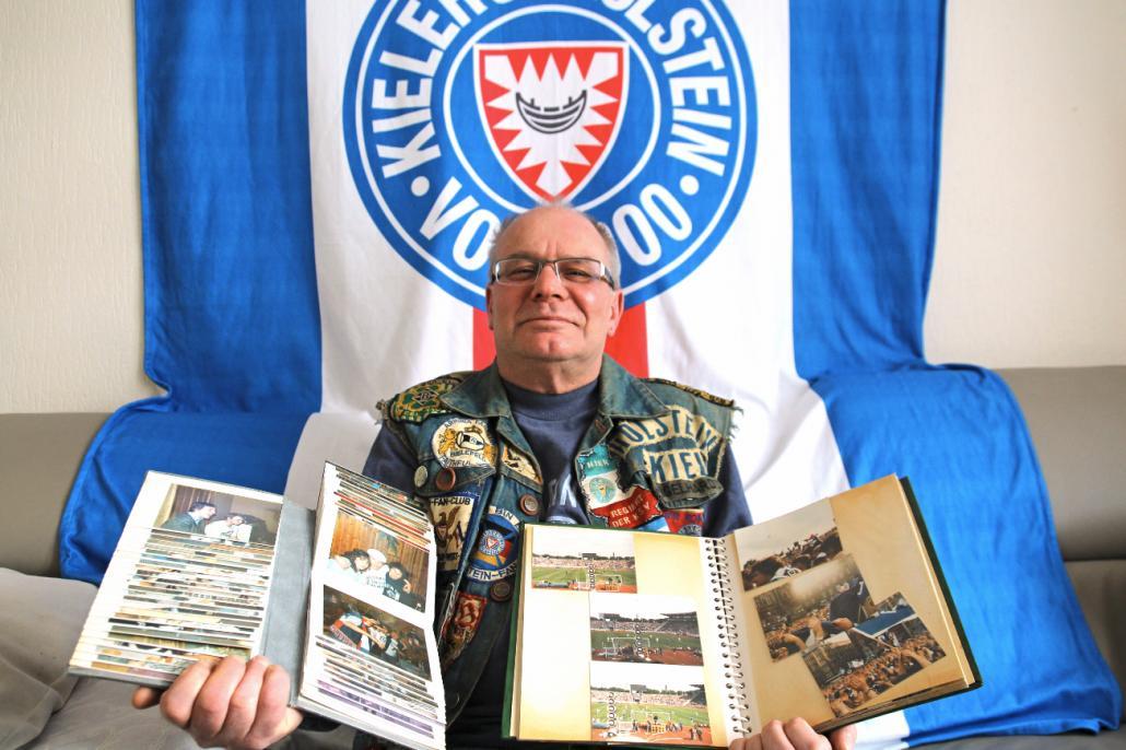 Boyens Engelhardt gründete 1981 mit seinen Kumpels einen der ersten Holstein-Fanclubs und hat seitdem viel erlebt.