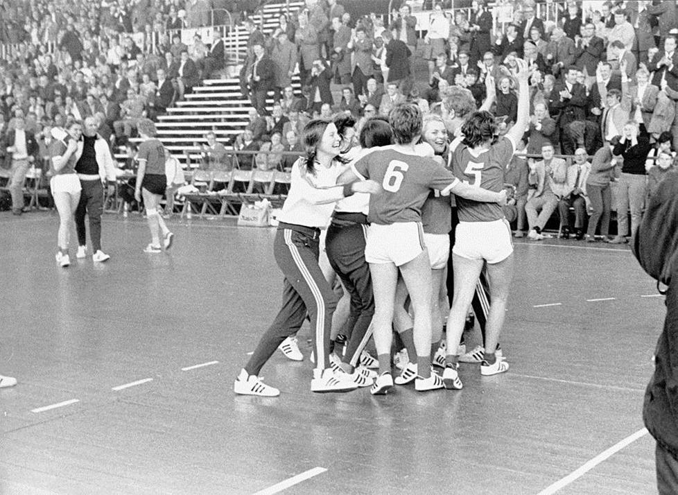 Grenzenloser Jubel: Erstmals gewannen die Frauen der KSV 1971 die  deutsche Handballmeisterschaft