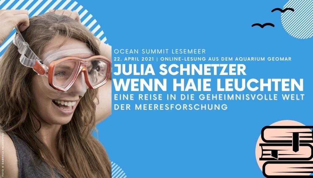 """Julia Schnetzer liest """"Wenn Haie leuchten"""""""