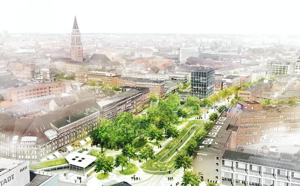 Der Entwurf der bauchplan ).( landschaftsarchitekten und stadtplaner wurde von der Jury anerkannt.