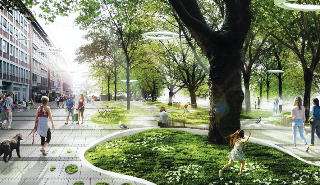 So sieht die Holstenstraße der Zukunft aus
