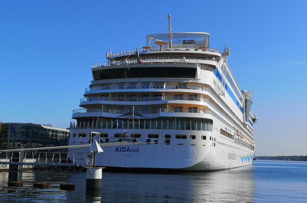 Die AIDAsol ist bereit, endlich wieder mit Passagieren abzulegen.