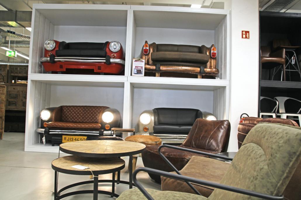 Exklusive Möbel bei fischer's lagerhaus