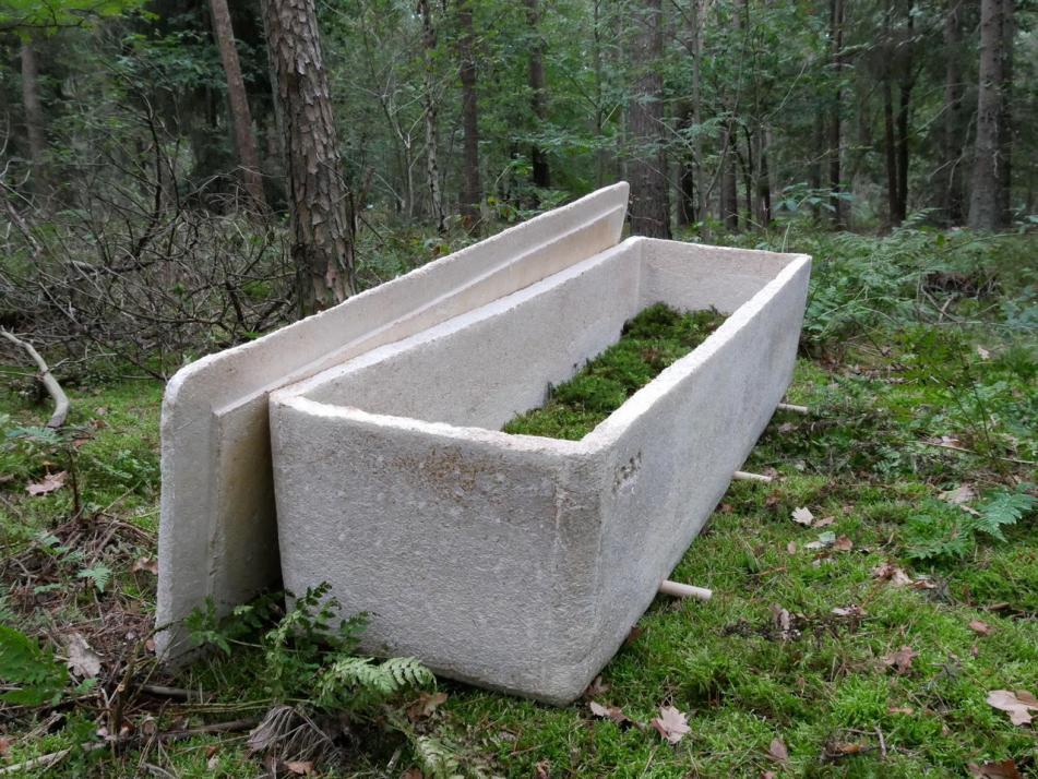 Dass der Trauerhafen auch ganzheitlich und nachhaltig arbeitet, zeigt, dass eine Bestattung in einem Pilzsarg möglich ist.