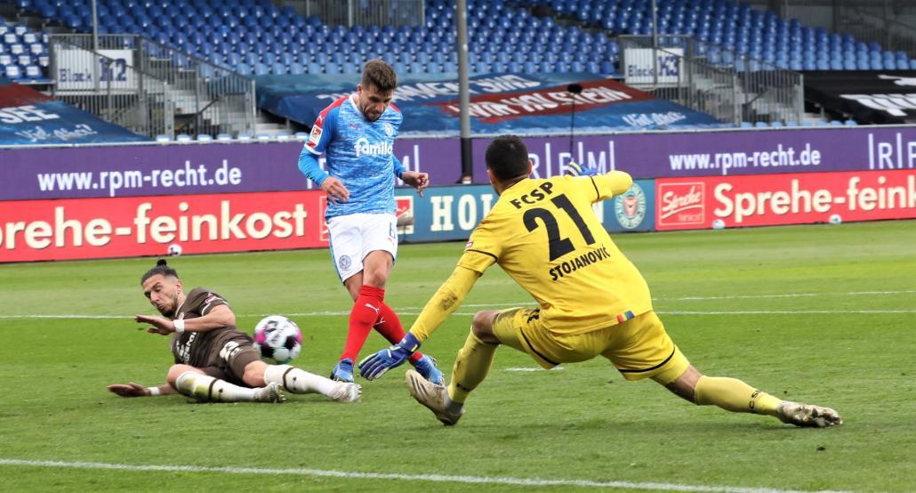 Ahmet Arslan traf gegen den FC St. Pauli.