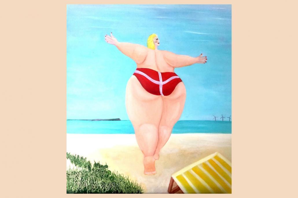 """""""Endlich Sommer"""", findet auch Bent Hougaard und das Kunsthaus Kappeln zeigt die erfrischenden Werke"""