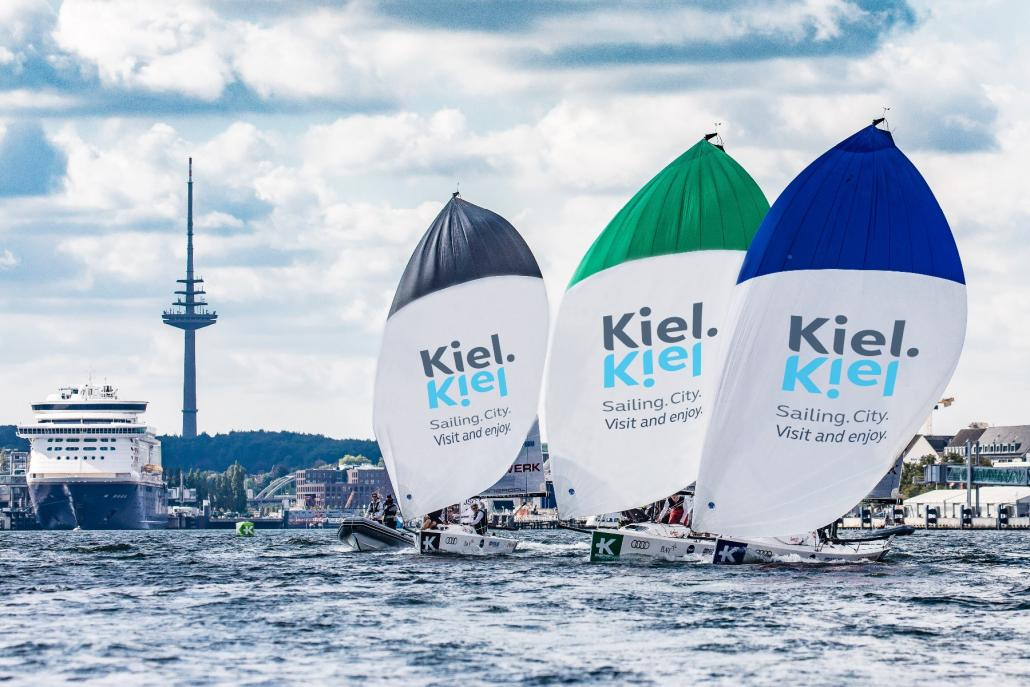 Vom 29. Juli bis 1. August lädt die Landeshauptstadt Kiel erstmalig die besten Segelclubs Europas zum Showdown auf die Innenförde ein.