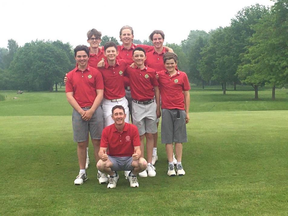 Freuen sich auf das Bundesfinale in Augsburg: Die Golfer des GC Kitzeberg.