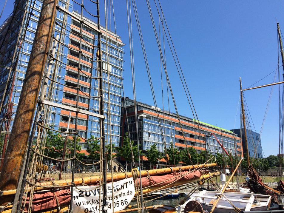 Neues Gesicht für Kieler Germaniahafen