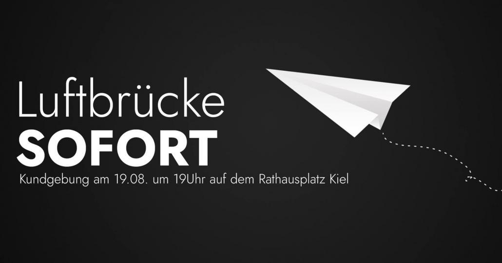 Breites Bündnis fordert Luftbrücke