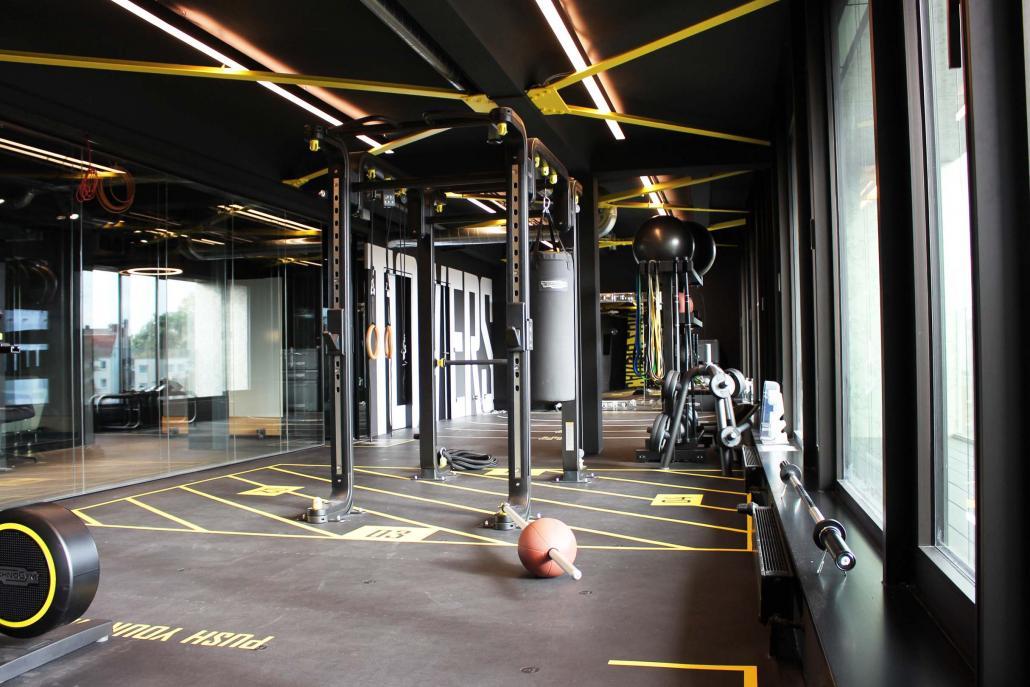 Im Sportstudio könnt ihr euren Ideenfluss aktiv anregen.