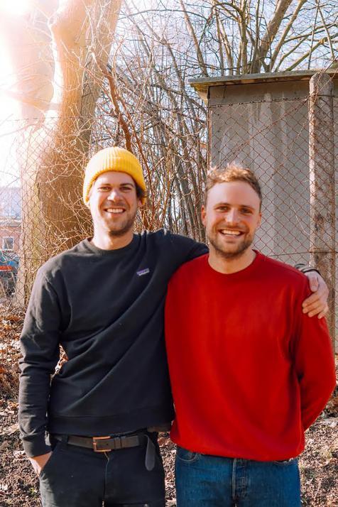 Jakob und Lorenz wollen die Saunawelt in Kiel revolutionieren