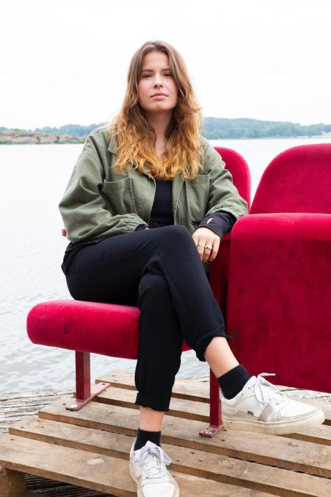 Luisa Neubauer trat am ersten Wochenende des NORDEN Festivals auf.