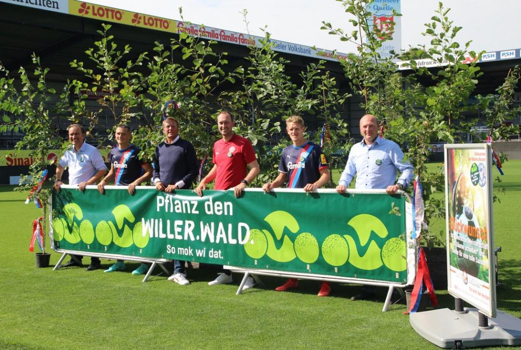 v.l.: Axel Niesing, Fabian Reese, Steffen Schneekloth, Ole Werner, Johannes van den Bergh und Georg Willer