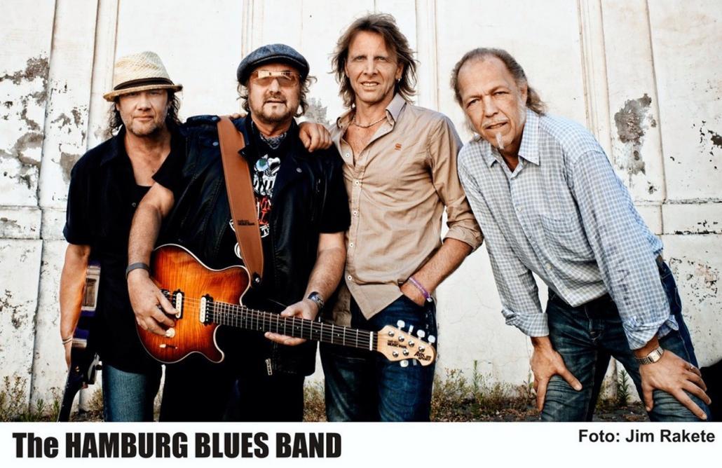Die Hamburg Blues Band steht seit 38 Jahren auf der Bühne und ist auch in der Räucherei absoluter Kult.
