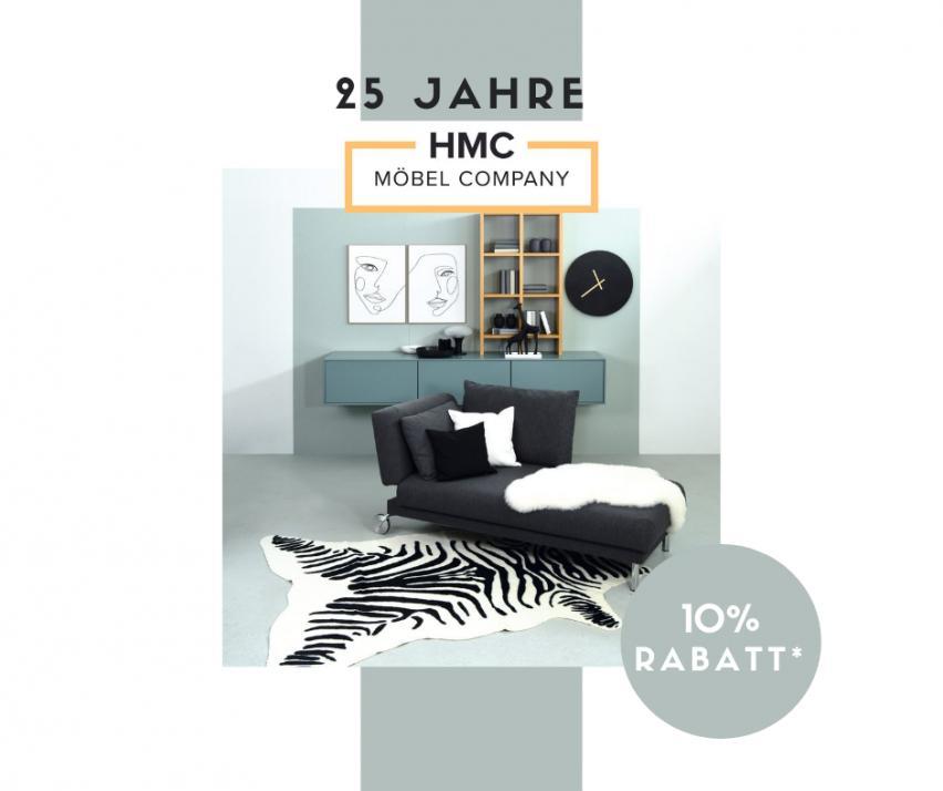 Bei HMC Möbel gibt im Oktober es tolle Angebote und Rabatte
