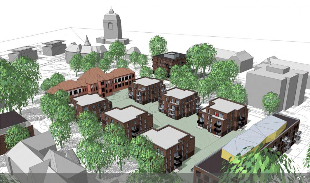 Umbau des Anscharparks in Kiel-Wik beginnt