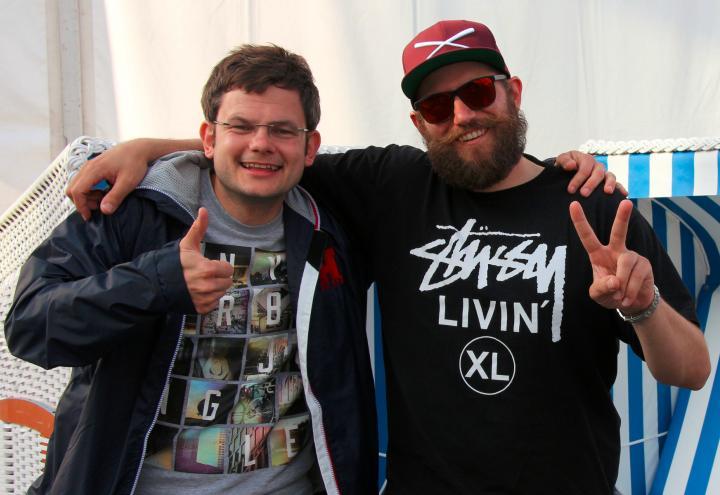 Auf ein Kieler-Woche-Bier mit MC Fitti