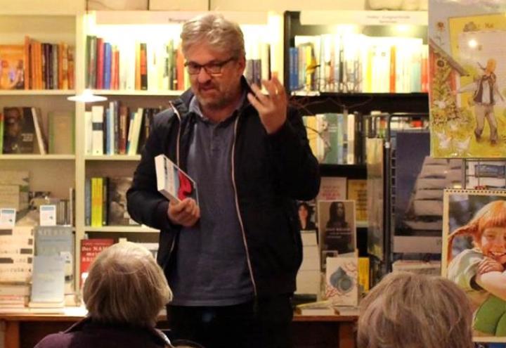 Lesung mit Küstenkrimi-Autor Hendrik Neubauer