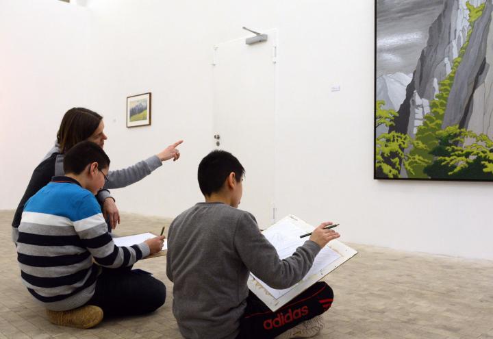 """Sonntags Kunst!"" in der Stadtgalerie am 7. Februar"