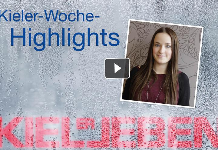 Video: Kieler Woche Highlights am 22. Juni 2016
